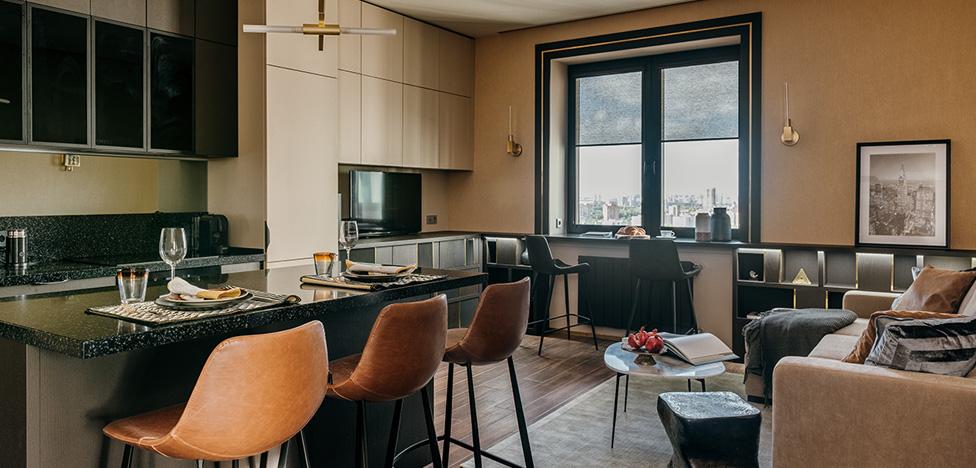 Наталья Стрыкова: квартира на 23 этаже