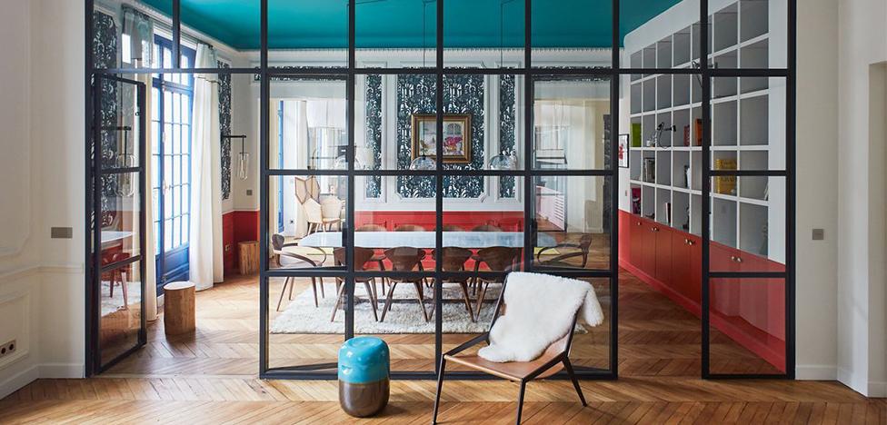 GCG Architectes: четыре цвета в парижской квартире