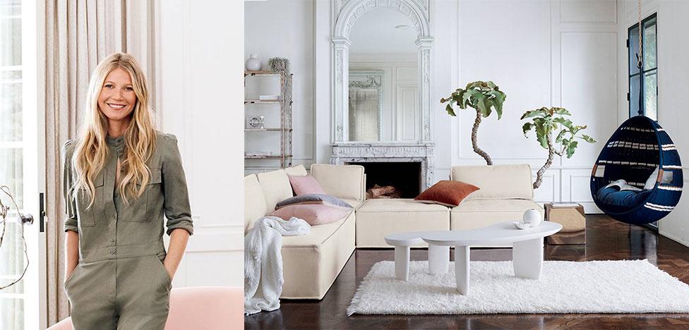 Гвинет Пэлтроу занялась мебельным дизайном