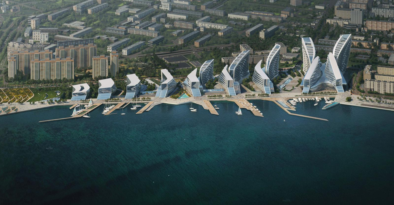 Zaha Hadid Architects перестроют Новороссийск