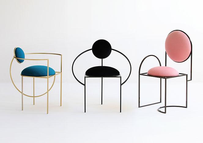 Лунные стулья Лары Бохинц