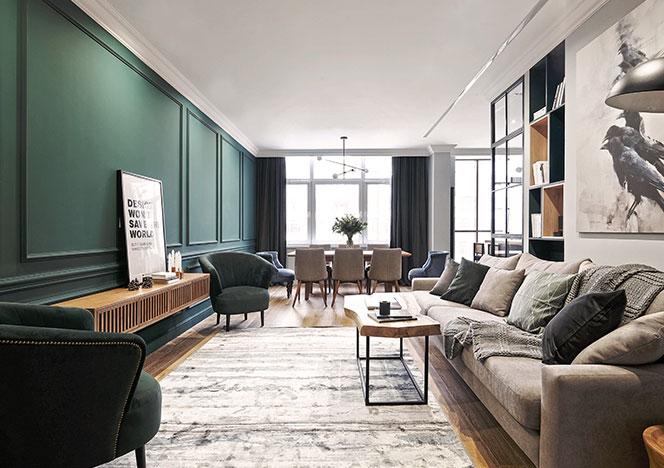 Cartelle Design: квартира в петербуржской новостройке
