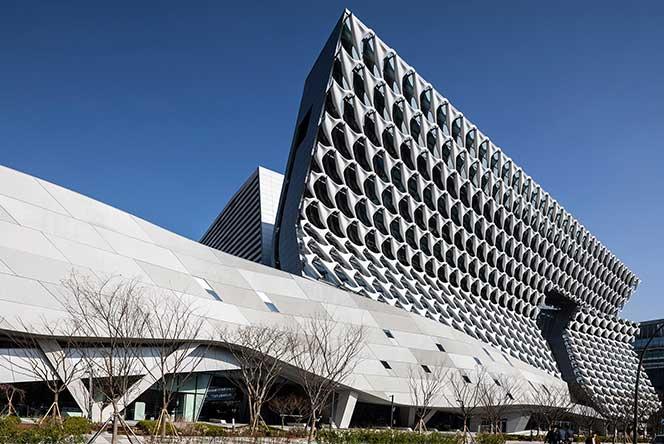 Morphosis: здание Kolon в Сеуле