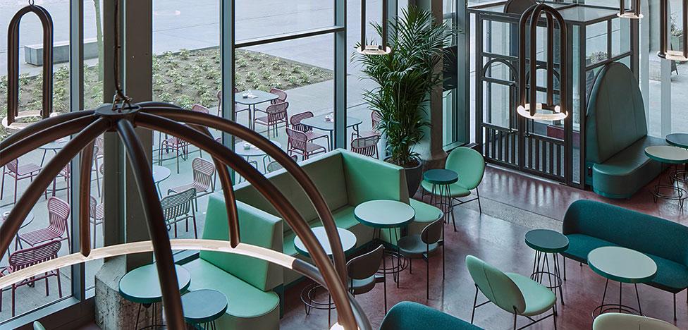 Studio Modijefsky: ресторан на керамической фабрике