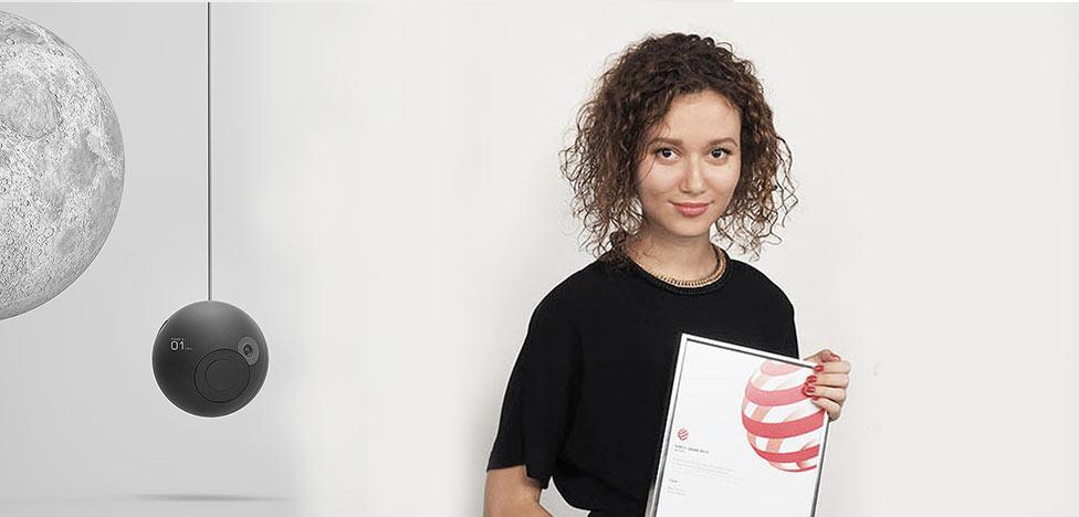 Майя Прохорова: четыре премии Red Dot