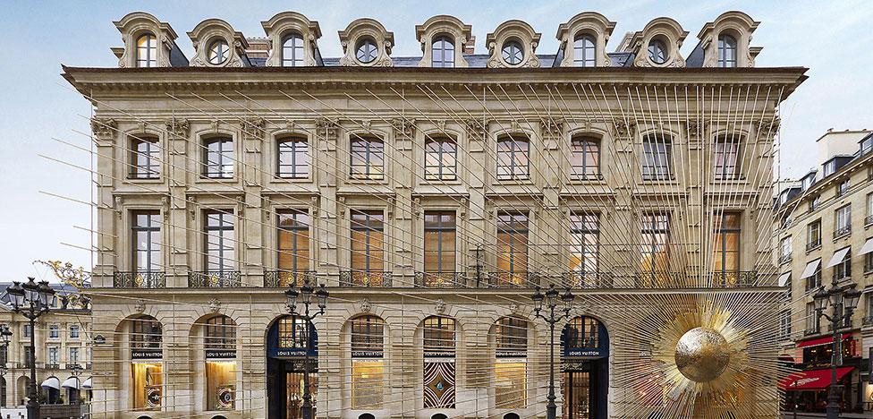 Maison Louis Vuitton в Париже: новый облик от Питера Марино