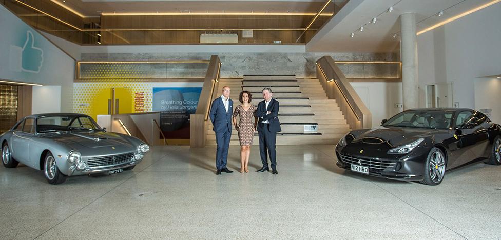 70 лет Ferrari: суперкары в музее дизайна