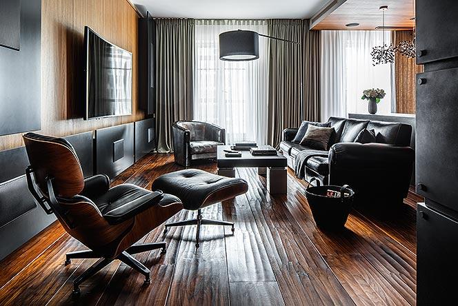 Юлия Атаманенко: cемейная квартира с шедеврами Имзов и кухней Le Corbusier