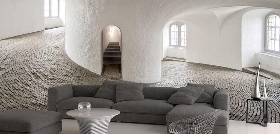 Creativespace: архитектурные стены Джорджии Барберо