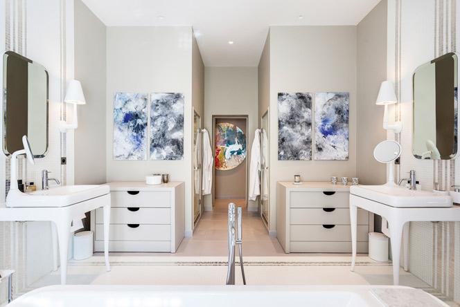 Роскошная ванная: 5 cекретов Жерара Февра