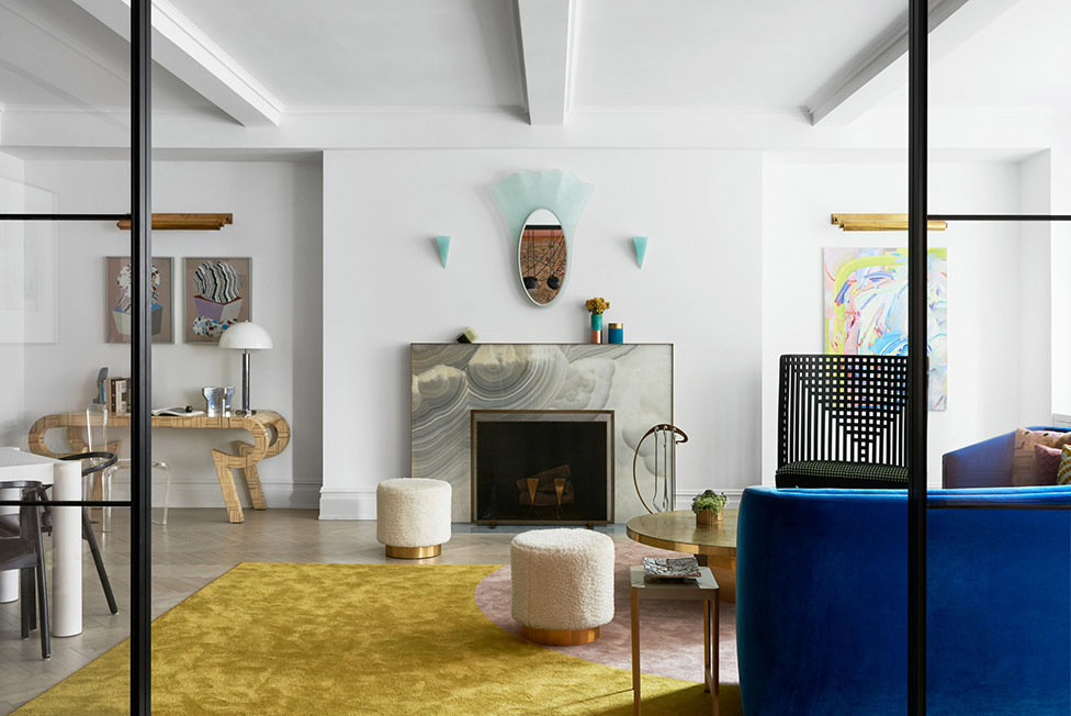 Квартира в Нью-Йорке по проекту MKCA