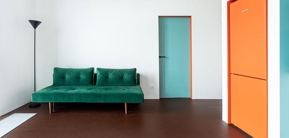 Buro5: модернизм в квартире 48 кв. метров
