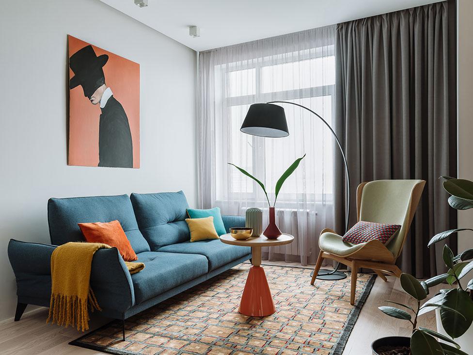 Олеся Березовская: семейная квартира 60 кв. метров