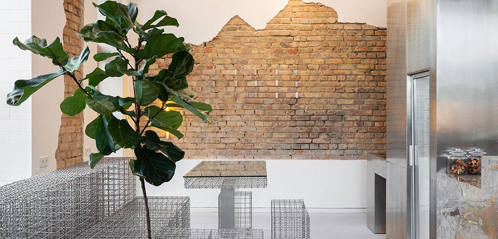 AKZ Architectura: минималистичное кафе в Киеве
