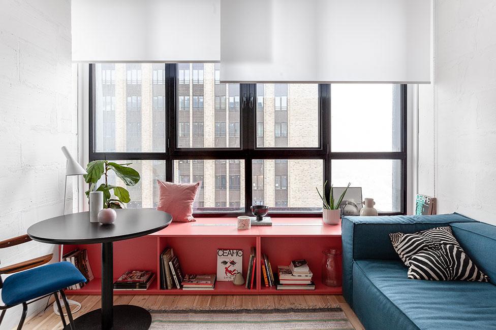 Room Design Büro: квартира 32 кв. метра в новостройке