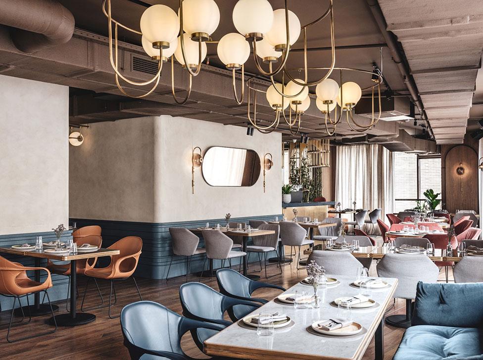 Ресторан The Y в Москве по проекту Asthetique
