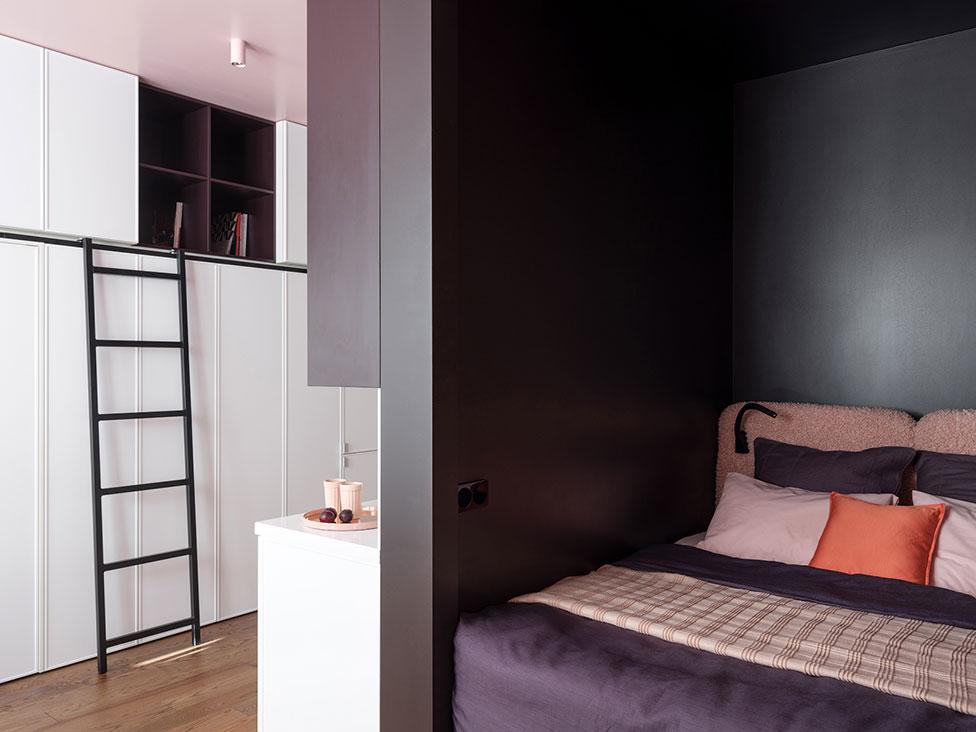 Яна и Юрий Волковы: маленькая квартира 28 кв. метров для себя
