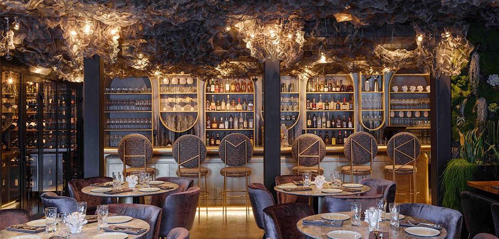 Megre Interiors: ресторан Humans на Патриарших прудах