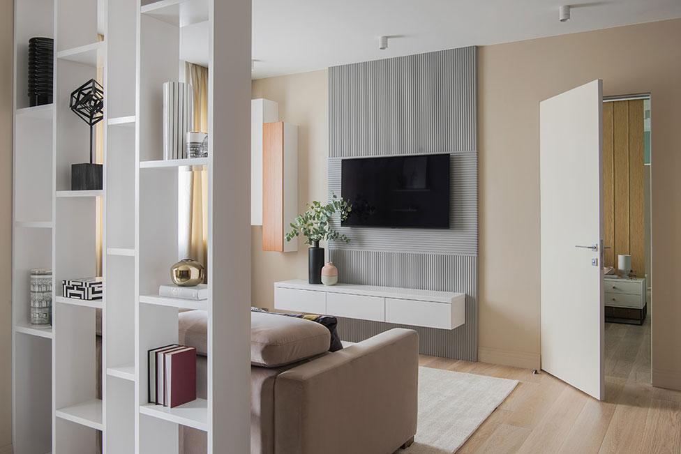 Юлия Каманина: квартира 93 кв. метра для семьи с двумя детьми