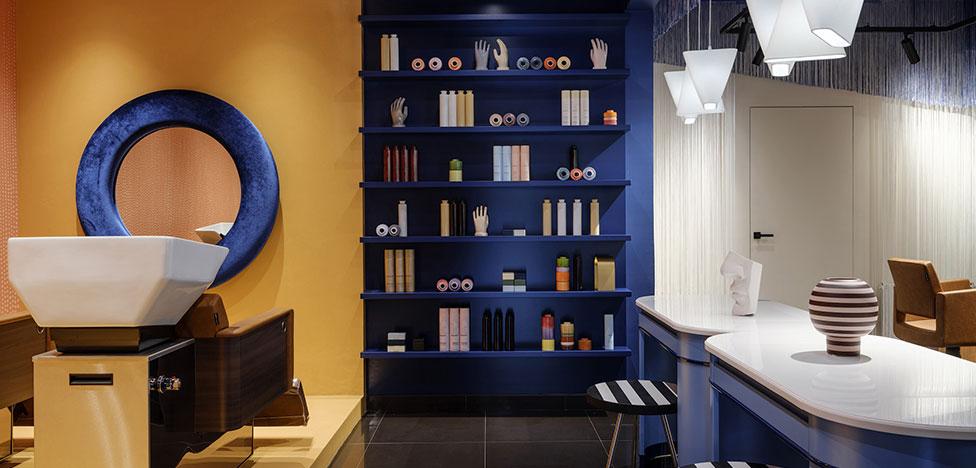 Салон красоты Corso по проекту студии Pugachevich