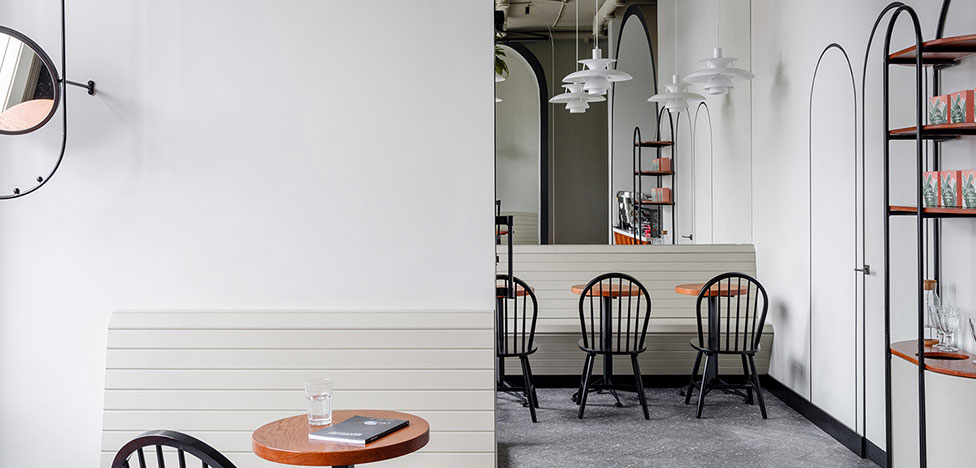 STUDIO LYNX: кофейня с арками в Тюмени