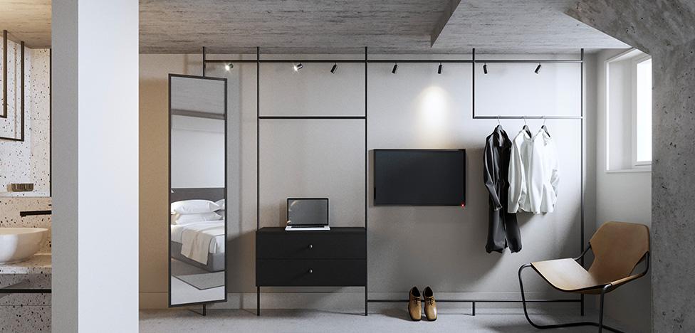 Отель Blique в Стокгольме по проекту Герта Вингорда