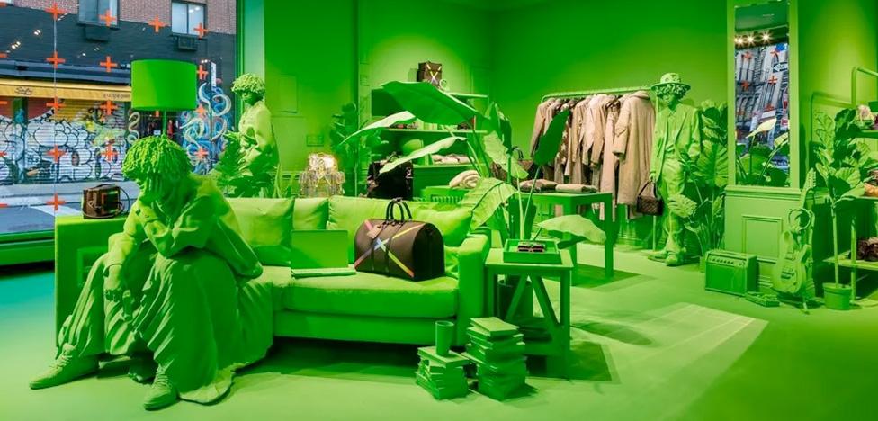 Louis Vuitton открыл временный бутик в Нью-Йорке