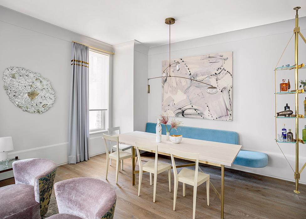 Хадас Дембо: модельная квартира в Нью-Йорке