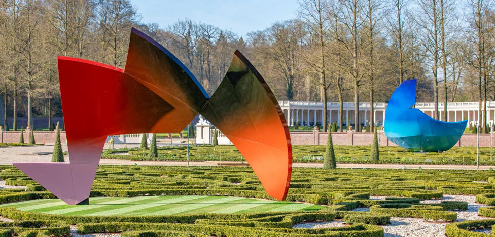 Скульптуры Даниэля Либескинда в голландском парке