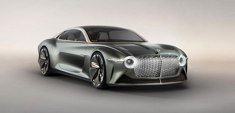 Bentley EXP 100 GT: новая эра роскоши