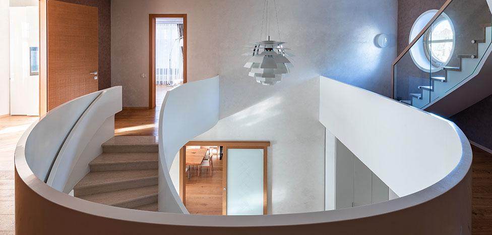 Дарья Пак: черно-белый дом в Новогорске