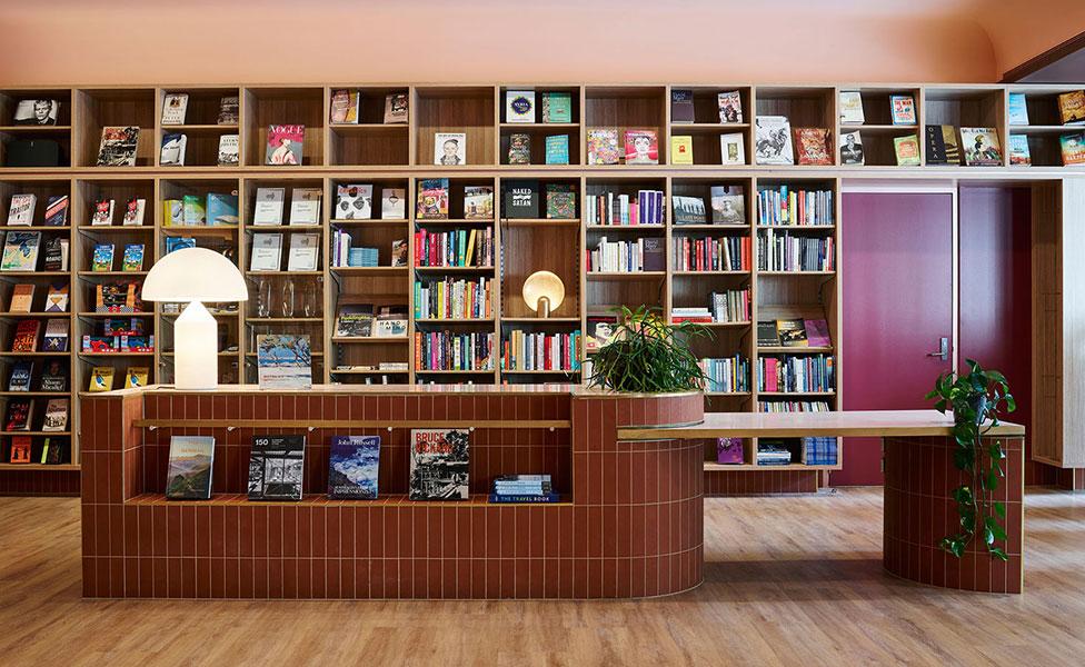 Книжный магазин на территории кампуса