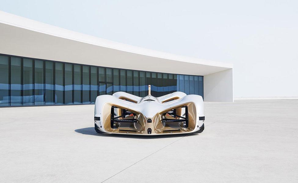 Robocar: первый гоночный электромобиль без водителя