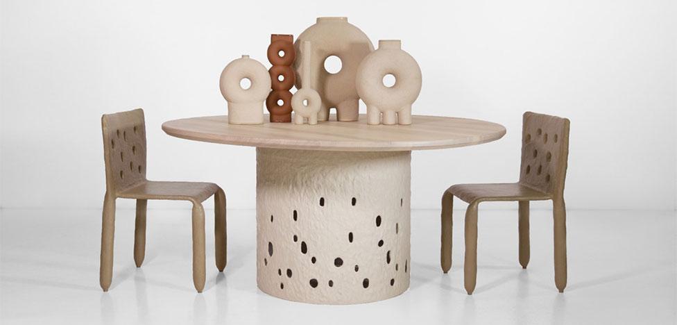 Мебель «из теста» Виктории Якуши