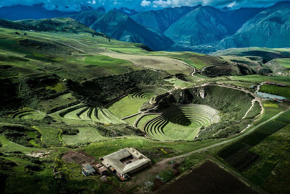 Ресторан в священной долине инков