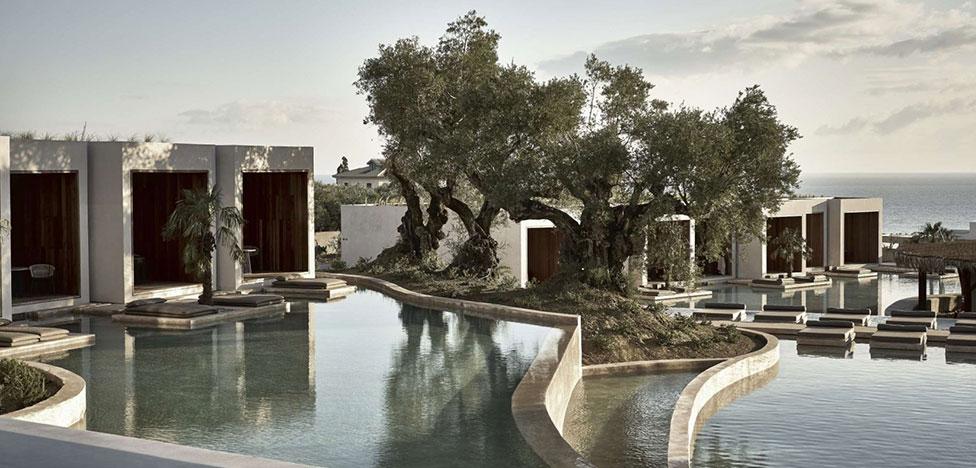 Велнес-отель в Греции по проекту Block722