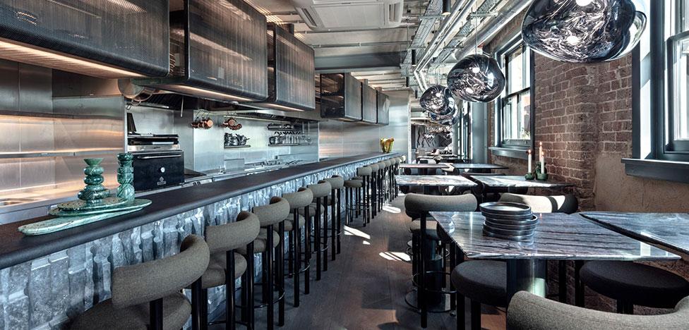 Новый ресторан Тома Диксона в Лондоне