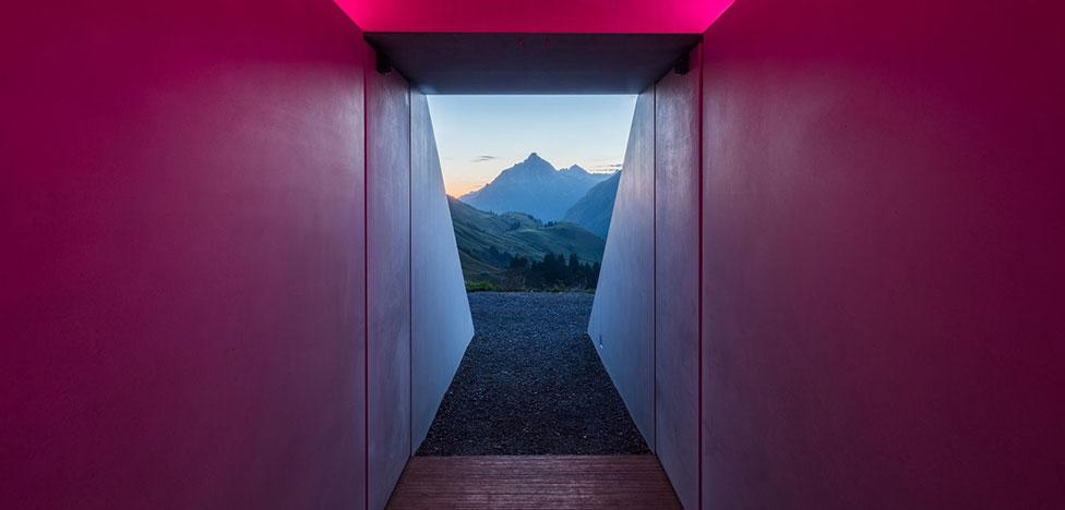 Джеймс Таррелл: свет и цвет в Альпах