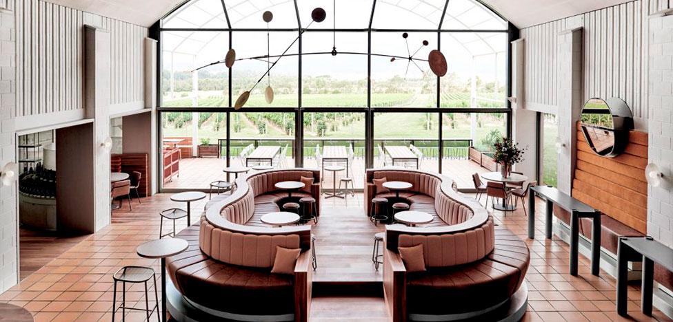 Foolscap Studio: винный ресторан и бутик в долине Ярра