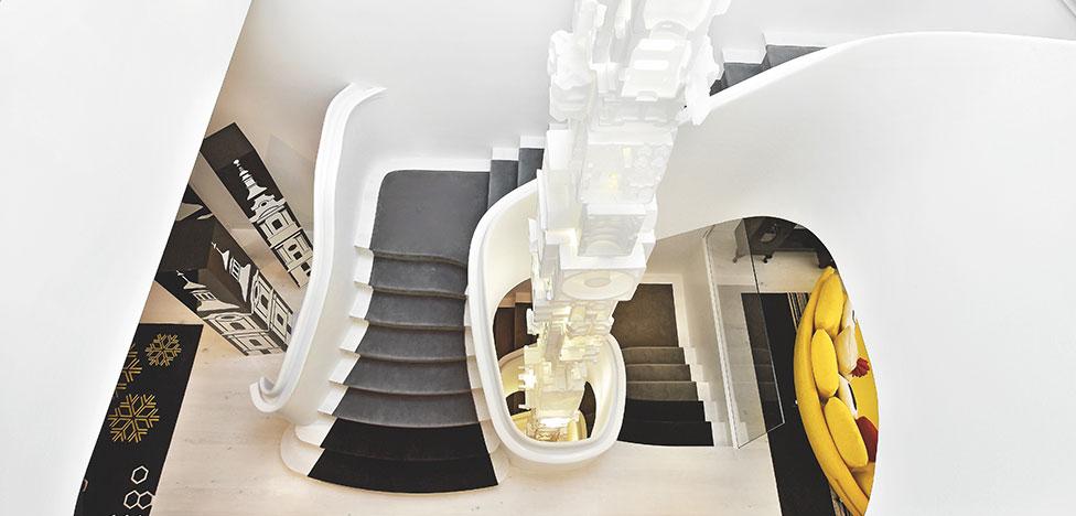 Гислен Виньяс: дом для галеристки в Челси