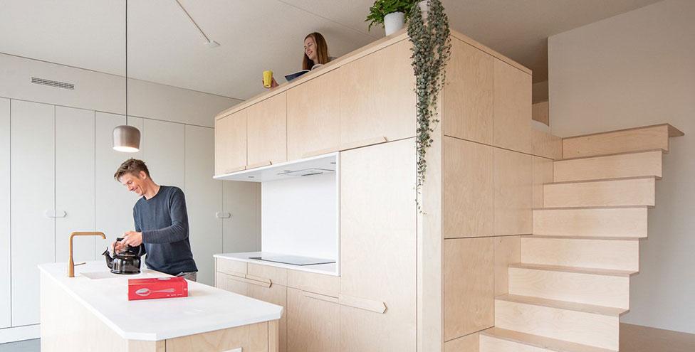 Маленькая квартира на первом этаже в Амстердаме