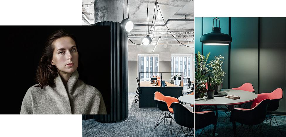 Офис по проекту Насти Колчиной: собранность и простота