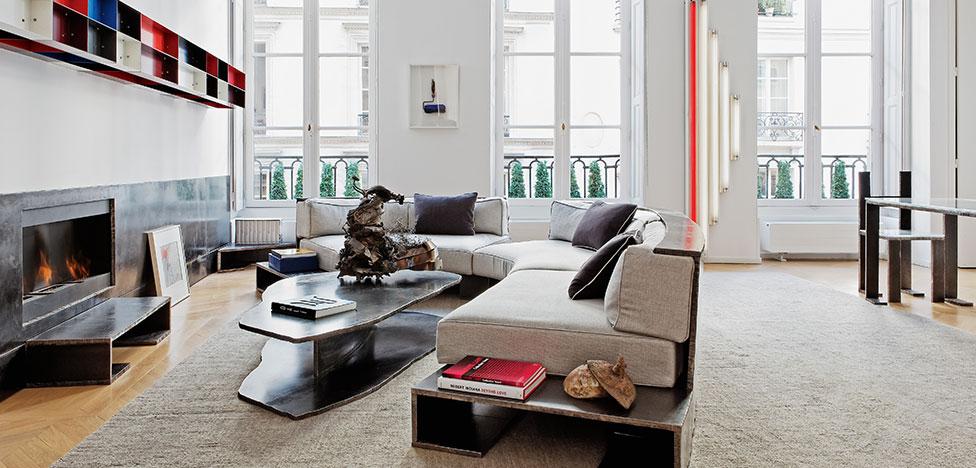 Квартира французского скульптора Бернара Вене