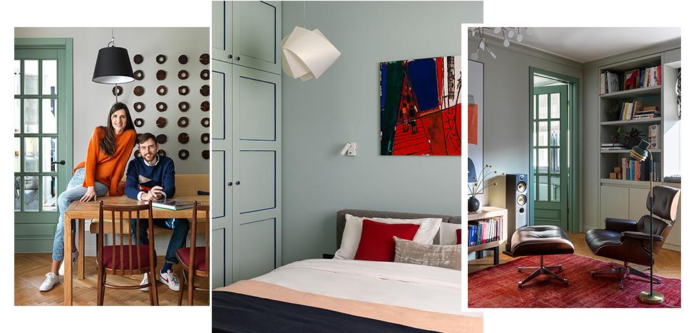 Дизайнер Мария Степанова спроектировала квартиру для своей семьи