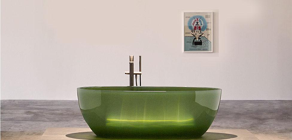 Cristalmood от Antoniolupi: прозрачный дизайн