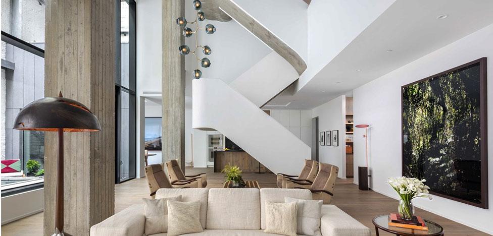 Бразильский дизайн в шикарном триплексе