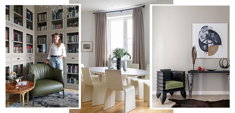 Проект Олеси Шляхтиной: квартира без прямых углов