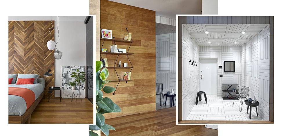 Domestic Studio: квартира с яркими идеями и скандинавским дизайном