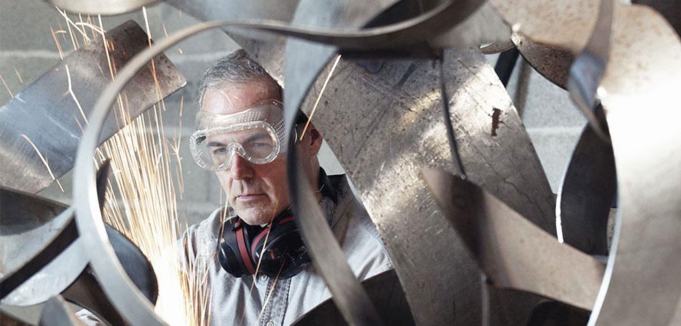 Скульптор Бенуа Лемерсье: поэзия математизма