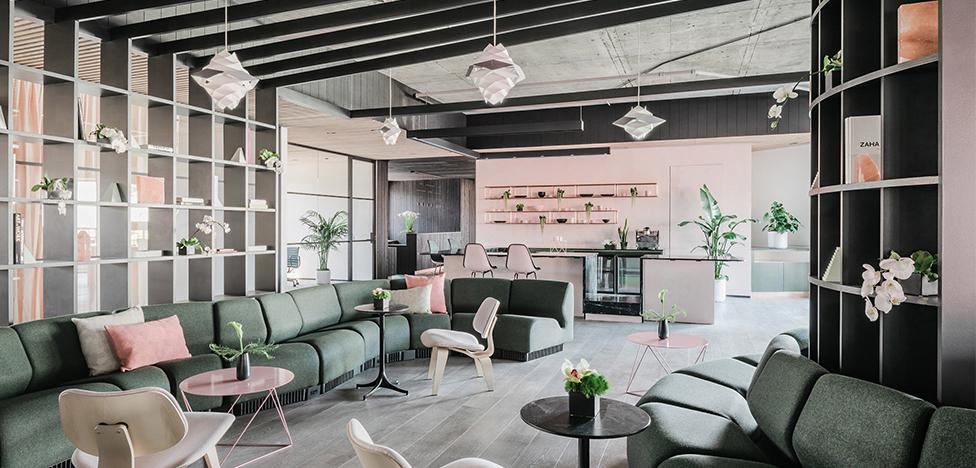 Ив Беар: розовый офис в Сан-Франциско